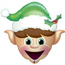 "Christmas Elf - Large Christmas Balloon (35"") 1pc"